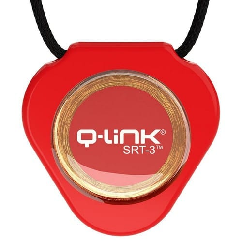 תליון Q-Link אדום - קיו-לינק ישראל