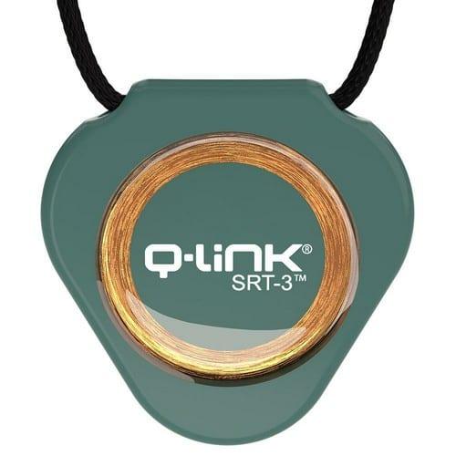 תליון Q-Link ירוק בקבוק - קיו-לינק ישראל