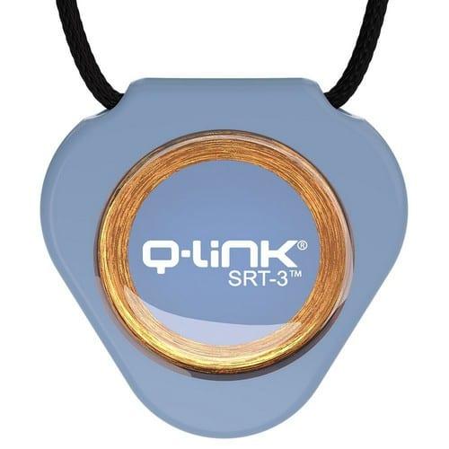 תליון Q-Link כחול בהיר - קיו-לינק ישראל