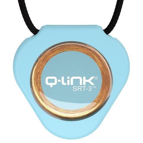 תליון Q-Link כחול שמיים - קיו-לינק ישראל