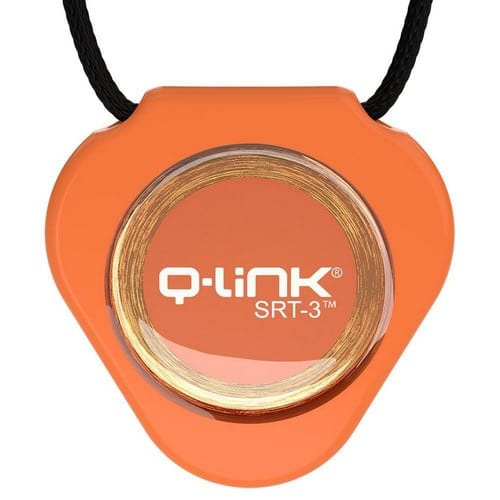 תליון Q-Link כתום - קיו-לינק ישראל