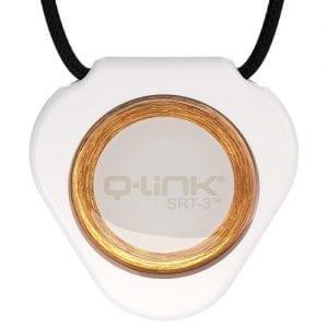 תליון Q-Link לבן מודרני - קיו-לינק ישראל
